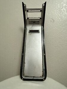1964 1966 Ford Thunderbird Console Center Top Plate Trim With Vent Switch
