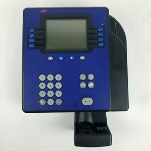 Kronos Adp 4500 Employee Time Clock W Biometric Quick Punch Touch Id 8602800 806