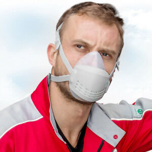 Ab_ Reusable Breathable Protection Emergency Gas Mask Respirator Filter Chemical