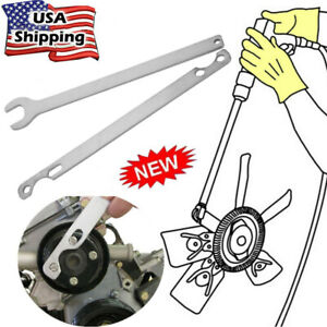 32mm 1 26 Inchfor Bmw Fan Clutch Nut Wrench Water Pump Holder Removal Tool Kit