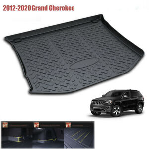 Car Rear Cargo Trunk Liner Tray Mat For 2011 2021 Jeep Grand Cherokee None L