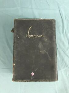 Vintage Honeywell W136a Analog Test Meter W Leather Case Manual Leads 1972