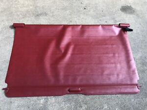 Red 1991 1994 Oem Ford Explorer Cargo Cover Rear Security Shade Tonneau Maroon