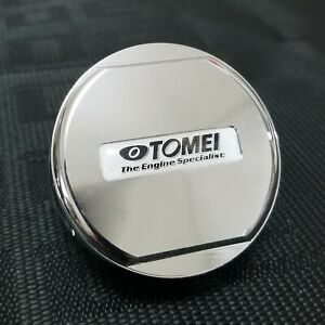 Tomei Engine Oil Filler Cap Cover Billet Silver For Honda Civic Accord S2000