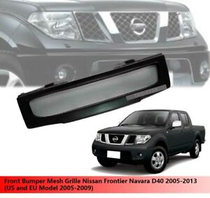 Front Bumper Grille Use For Nissan Frontier Navara D40 2005 2006 2007 2008 2009