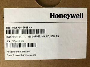 Honeywell 1950hhd 5usb n Xenon Healthcare Scanner New Open Cable Included