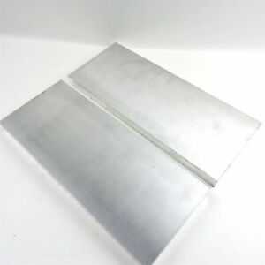 75 Thick 6061 Aluminum Plate 5 25 X 14 875 Long Qty 2 Flat Stock Sku 137152