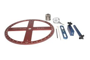 Competition Cams 4938 Pro Degree Wheel Kit Fits Chevrolet Small Block