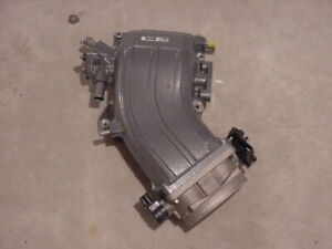 New Supercharger Upper Intake Plenum Elbow With Throttle Body And Tps Lightning
