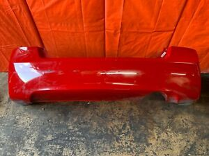 Oem 2008 Honda Civic Si Sedan Rear Bumper Cover Rallye Red In Color Scuffs