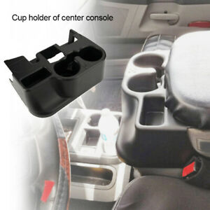 Car Center Console Cup Holder Attachment Fits For 99 01 Ram 1500 2500 3500 Black