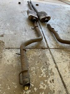 Flowmaster American Thunder Cat Back Exhaust System 2015 2019 Dodge Charger R T