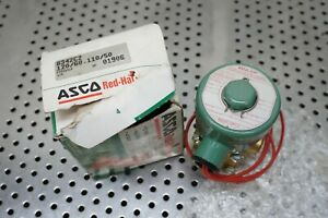 Asco Redhat Solenoid Air Operated 2 3 4 Way Valves