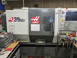 Haas Ds 30 Ssy Live Tool Dual Spindle y Axis Cnc Lathe