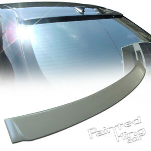 08 13 Fit For Toyota Altis Corolla Sedan Rear Roof Spoiler Wing Abs Unpainted
