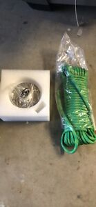 2000 Lb Fishing Magnet Strong Neodymium Pull Force W Rope Carabiner