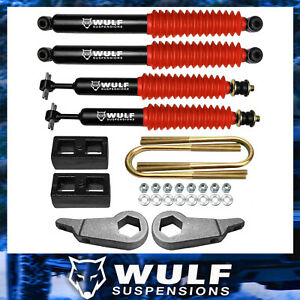 3 Front 2 Rear Leveling Lift Kit W Shocks For 1998 2011 Ford Ranger 2wd 4x4