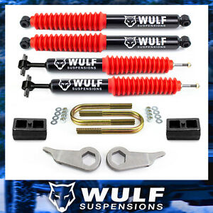 3 Front 1 5 Rear Leveling Lift Kit W Shocks For 1998 2011 Ford Ranger 2wd 4x4
