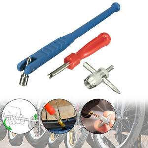 New 1 Set Valve Stem Installation Puller Car Tire Plug Core Remover Repair Tool