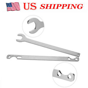 2pcs Bmw Fan Clutch Nut Wrench And Water Pump Holder Tool Kit Removal 32mm X5