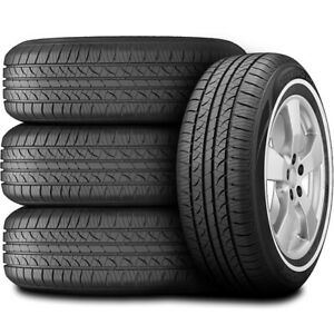 4 New Hankook Optimo H724 215 75r14 98s A s All Season Tires