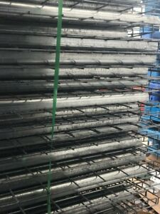 Pallet Rack Deck 36x46 Waterfall Wire Shelving Grid 2500 Lbs Cap New