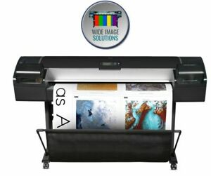 Hp Designjet Z5200ps Cq113a 44 in Plotter Wide Image Solutions Recertified