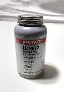 Loctite Lb 8012 Low Friction Lubricant Moly Paste 16 Oz 1 Lbs New