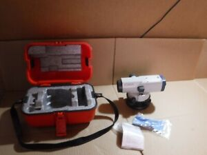 Sokkia B40a Automatic Engineering Construction Level 24x With Case