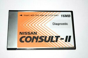 Vetronix Nissan Consult Ii Consult 2 16mb Diagnostic Card Up To 2007