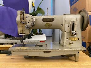 Pfaff 141 Rolling Foot Industrial Sewing Machine Leather Canvas Upholstery