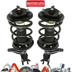 Pair Front Complete Shock Struts Assy For Honda Element 4wd Fwd 2003 2011 172135
