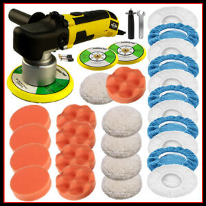 6 Dual Action Da Car Polisher Kit Buffer Sander Waxer Cleaner Polishing Machine