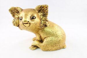 Freeman McFarlin Gold Leaf Koala Bear by R Hetrick Signed 1950s