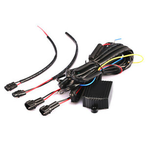Drl Led Daytime Running Light Relay Harness Automatic On Off Control Switch F Nq