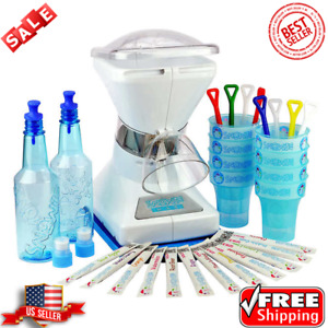 Little Snowie Max Shaved Ice Machine Bundle Commercial Motor And Sleek Design