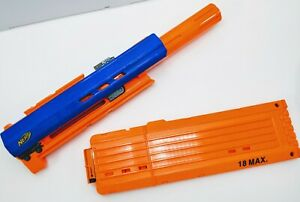 Nerf Long Strike CS-6 Barrel Tactical Attachment Sniper w Clip FAST SHIPPING $29.99