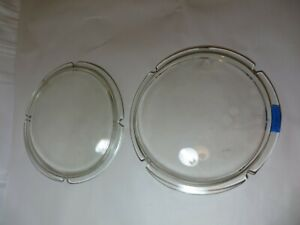 Vintage 1963 Studebaker Avanti Left And Right Headlight Lenses