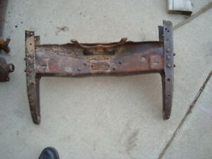 1928 1929 1930 1931 Ford Front Cross Member Bumper Horns Pickup Truck