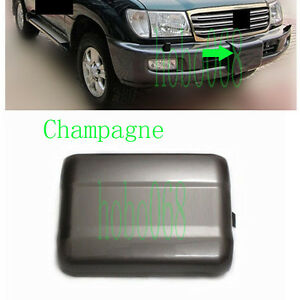 1pcs Champagne Front Bumper Winch Cover For Toyota Land Cruiser 4700 Fj100 98 07