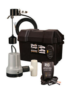 Liberty Pumps 441 Battery Back up Emergency Sump Pump System