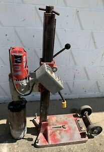 Milwaukee Heavy Duty Dymodrill 4096 Core Drill Core Bore Rig With 6 Bit