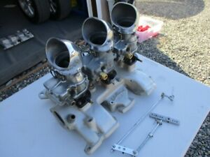 Ford Y Block Intake Manifold Edelbrock With 97 Carbs