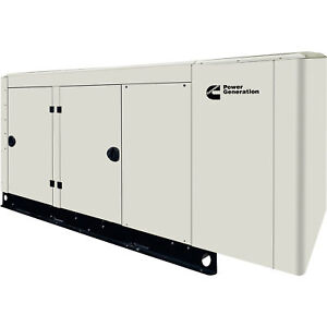 Cummins Commercial Standby Generator 100 Kw Lp ng 120 240v Single phase Rs150