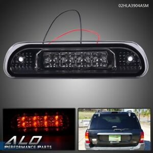 For 1999 2004 Jeep Grand Cherokee Led Third Brake Light Rear Cargo Lamp Smoke