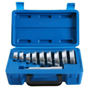 10pc Bearing Race And Seal Driver Set auto Puller Bushing Installer Remover Kit