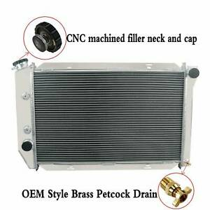 3 Row Aluminum Radiator For 1969 1973 Ford Mustang Fairlane Torino Cougar V8