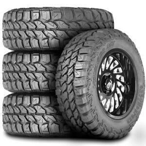4 New Groundspeed Voyager Mt Lt 33x12 50r18 118q E 10 Ply M T Mud Tires