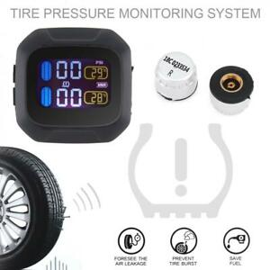 M3 Universal Wireless Motorcycle Car Tpms Tire Pressure Monitoring System Tyre