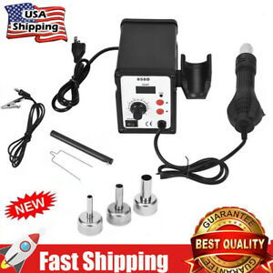 858d 700w Led Electric Hot Air Heat G un Soldering Station Desoldering Tool
